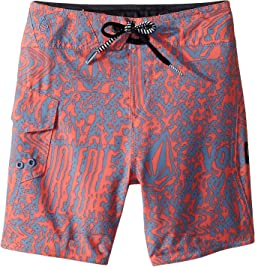 Logo Plasm Mod Boardshorts (Toddler/Little Kids)