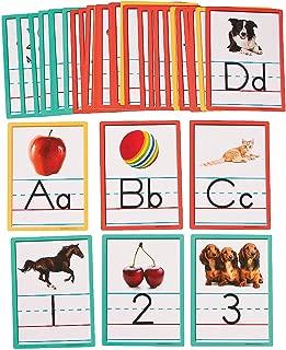 Fun Express - Alphabet & Number Cutouts - Educational - Classroom Decorations - Bulletin Board Decor - 36 Pieces