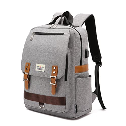 ab1aa7fc9f Professional Slim Vintage Laptop Backpack