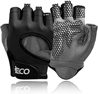 iECO Gewichtheffen Gym Handschoenen voor Mannen Vrouwen Workout Handschoenen met Volledige Palm Bescherming Geweldig voor ...