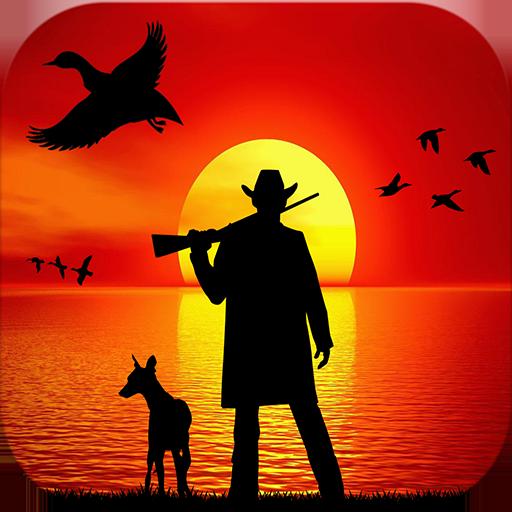 canard À la chasse 3D: Plongeur Canards - Chasser les oiseaux d'eau sur le côté belle rivière dans la saison de chasse ouverte
