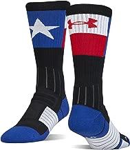 Under Armour Men's Unrivaled Texas State Pride Crew Socks