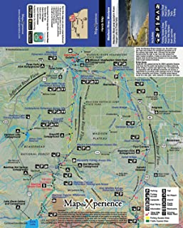 Map The Experience - Yellowstone River/Gallatin River, Montana Fishing & Fly Fishing Map
