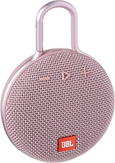 JBL Clip 3 Waterproof Portable Bluetooth Speaker - Pink
