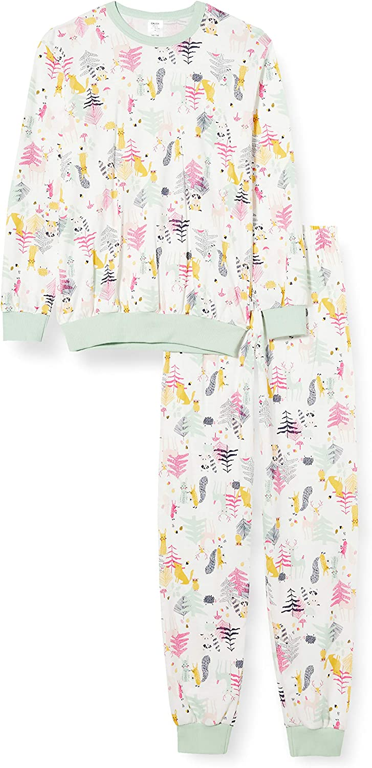 CALIDA Girls Forest Set di Pigiama Bambina