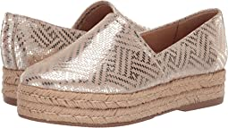 Light Gold Woven Leather