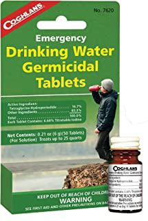 Coghlan's Drinking Water Tablets, 50 Tablets