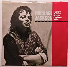 Michael Jackson - I Just Can't Stop Loving You - 7 inch vinyl / 45
