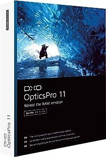 DxO Labs OpticsPro 11 Elite Edition Photo Enhancing Software, DVD