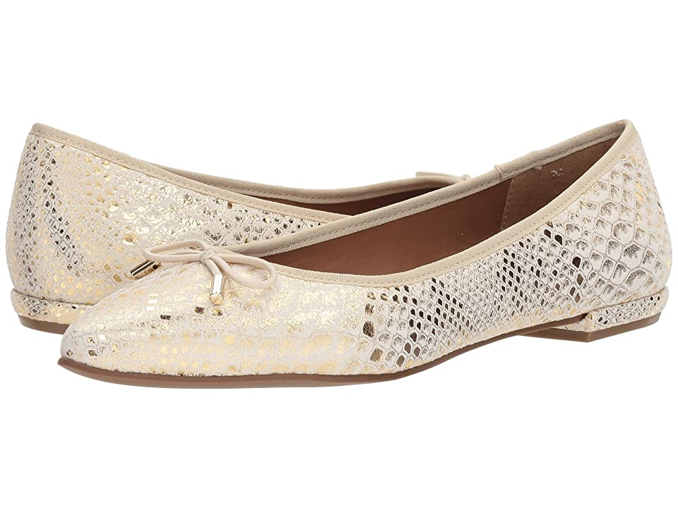 French Sole Anaconda (Gold Metallic Snake) Women