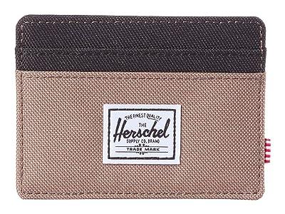 Herschel Supply Co. Charlie RFID (Pine Bark/Black) Wallet Handbags