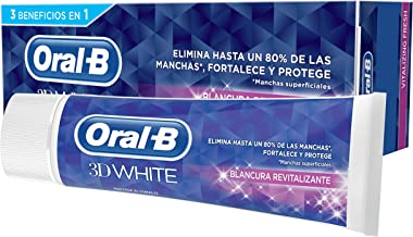 Oral-B 3D White Blancura Revitalizante Pasta Dentífrica 75 ml