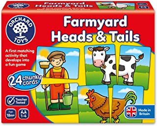 Orchard Toys - Farmyard Heads and Tails