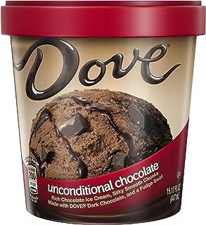 DOVE Unconditional Chocolate Ice Cream, Pint (16 Count)
