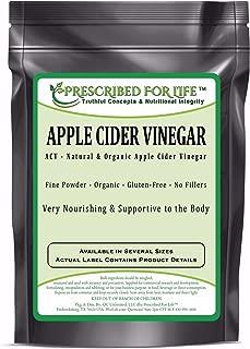 Apple Cider Vinegar - Organic Spray Dried ACV Powder - 5% Acetic Acid (Malus pumila - Mill.), 12 oz