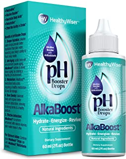 Alkaline Water pH Booster Drops + Natural Vitamins