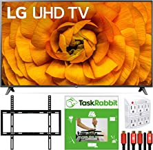 """$1679 » LG 82"""" 82UN8570PUC 4K Smart UHD TV w/AI ThinQ (2020 Model) Cinema HDR Dolby Vision IQ & Dolby Atmos Bundle with TaskRabbit Installation Services + Deco Gear Wall Mount + HDMI Cables + Surge Adapter"""