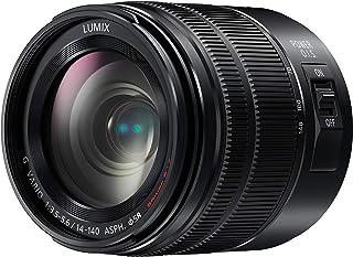 Panasonic Lumix H-FSA14140E Obiettivo 14-140 mm, F3.5-5.6II ASPH, Power O.I.S, Resistente a Polvere e Acqua, Nero
