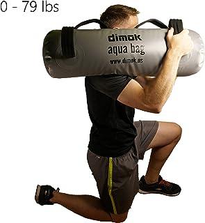 Crossfit Training Aqua Bolsa – – Entrenamiento de Gimnasio en casa (Alternativa – Portátil Peso Fuerza Ejercicio – Viene con una Bomba de pie