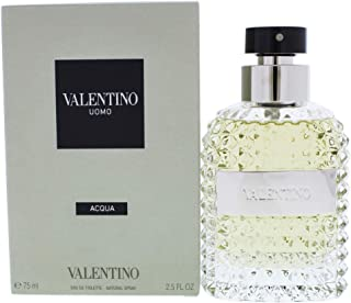Valentino Uomo Acqua Eau De Toilette Edt For Men, 75 ml