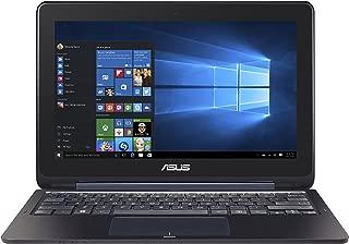 ASUS Transformer Book TP200SA-DH01T-BL 11.6 英寸显示屏超薄超轻二合一全高清触摸屏笔记本电脑,英特尔赛扬处理器,4GB 内存,32GB EMMC 存储,Windows 10 家庭,深蓝色