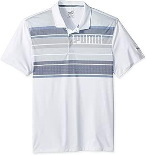 PUMA 576194 Boys Polo Shirt, Large, Sodalite Blue