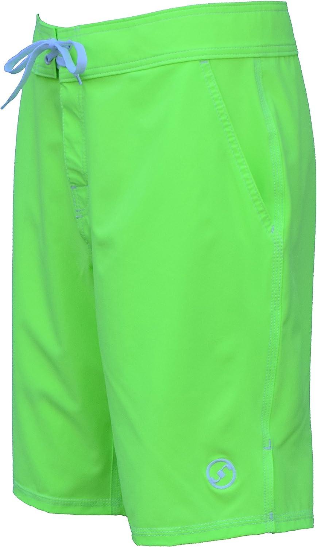 UN92 Summer Board Shorts Neon Green_40
