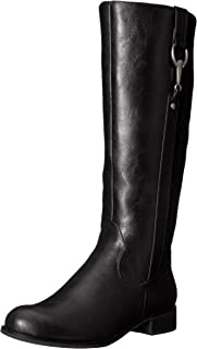 LifeStride womens Sikora Riding Boot, Black, 6.5 US