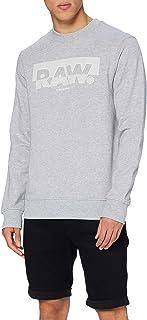 G-STAR RAW Men's Raw Block Raster Sweater