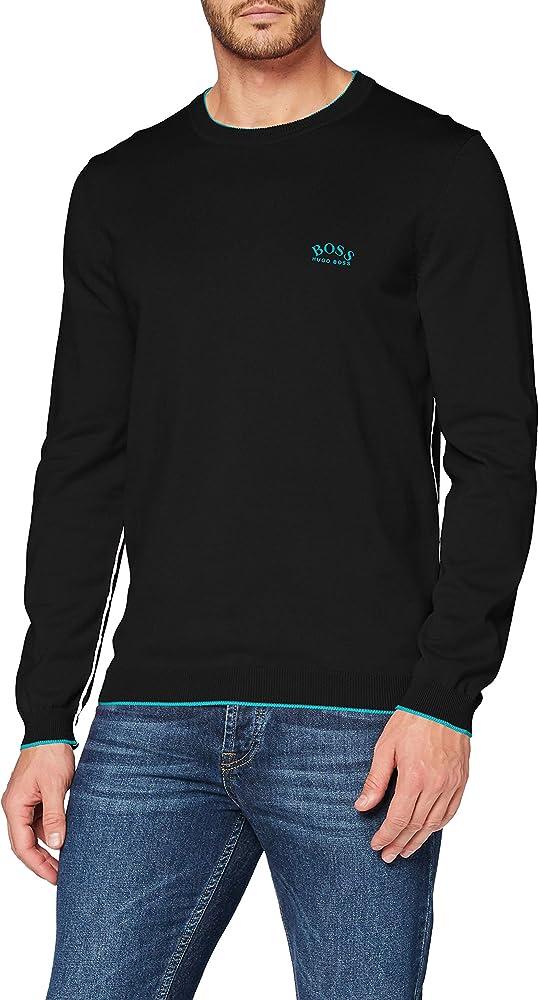 Hugo boss, pullover,felpa per uomo,100% cotone 50440679NE