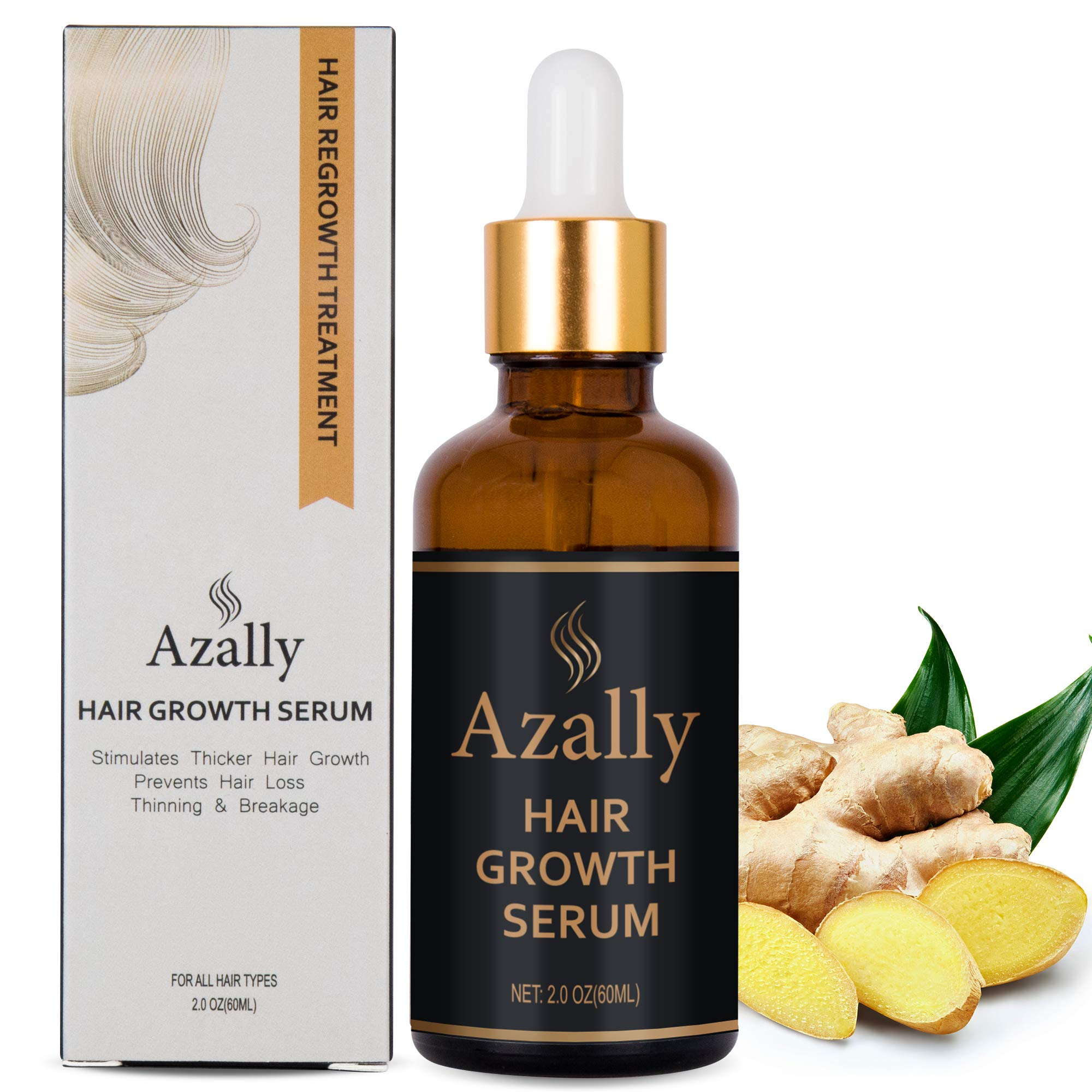 AZALLY Growth Ginger Prevention Treatment%EF%BC%8860ml%EF%BC%89