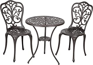Patio Sense 61908 Bistro Set, Faustina Antique Bronze