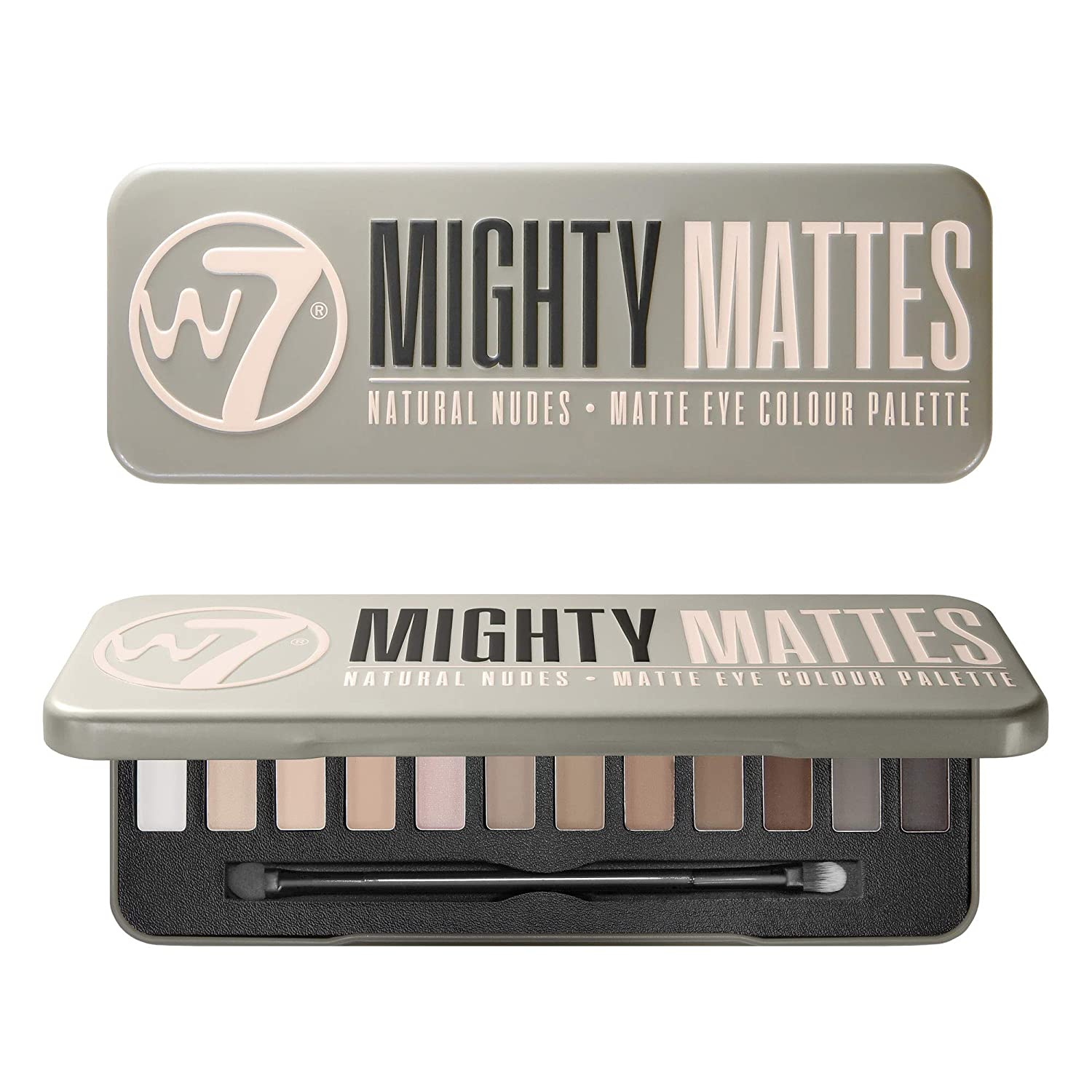 W7 Mighty Ranking TOP10 Mattes Eyeshadow Palette Colors Cre Brand Cheap Sale Venue 12 Pigmented