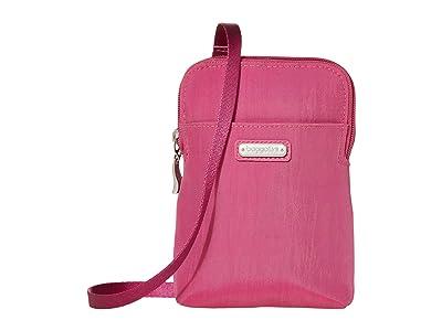 Baggallini New Classic Take Two RFID Bryant Crossbody (Deep Fuchsia) Handbags
