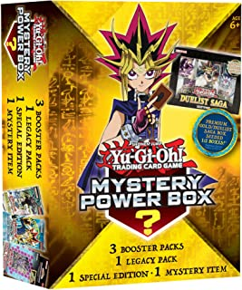 Yu-Gi-Oh! Cards Value Box 6 - Premium Gold/Duelist Saga Seeded 1: 2 Box + 3 Booster Pack + Factory Sealed Pack