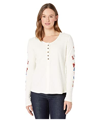 Aventura Clothing Selena Long Sleeve (Whisper White) Women