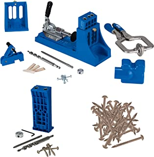 Kreg Jig K4 Master System with the Kreg Jig HD and 30 Count of HD Self Centering Pocket Hole Screws