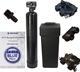 DuraWater 48k Mechanical Fleck 5600 Metered Water Softener With USA Tanks Ships Loaded (48,000 Grains, 8% Resin), 48, 000