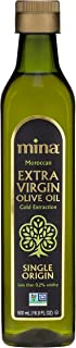 Mina Extra Virgin Olive Oil, Cold Extracted, Premium, Gourmet, Single Origin, Family Harvested and Traceable, Unblended, Ultra Low Acidity (Less Than 0.2%) - 16.9 fl oz (500 ml)