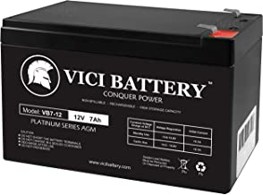 12V 7AH SLA Battery for Agri-Alert 800/800T Alarm System - VICI Battery Brand Product