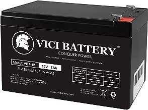 VICI Battery 12V 7AH Compatible Battery for APC UPS RBC12 RBC26 RBC27- Brand Product