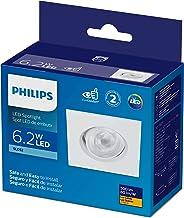 Luminária Led Philips Embutir Spotkit quadrada 6,2W luz amarela bivolt (100-240V)
