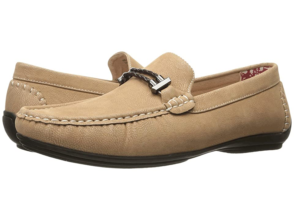 Stacy Adams Percy Slip On Casual Loafer (Taupe) Men