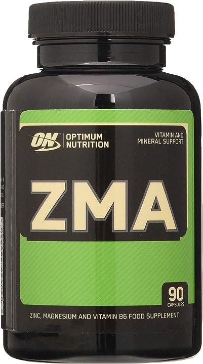 Zma, vitamine e minerali, zinco, magnesio e vitamina b6, non aromatizzato, 90 capsule, optimum nutrition 1066169