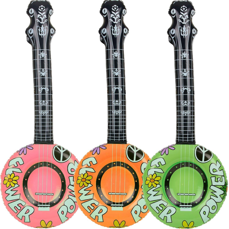 1 x hinchable * Banjo * – 100 cm de largo – como decoración para ...