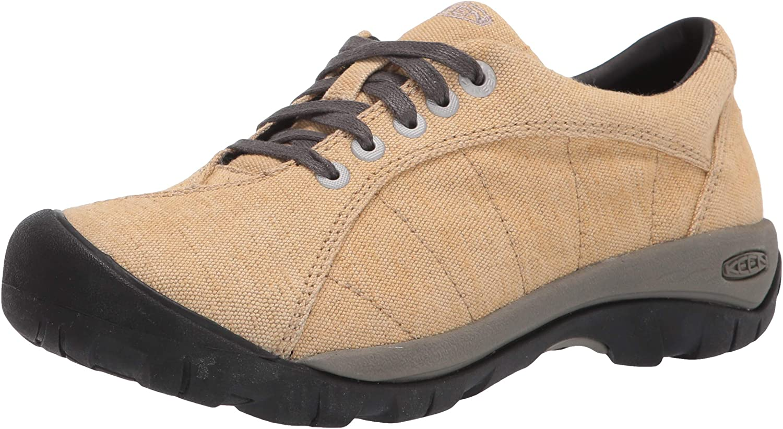 KEEN Women's Presidio Canvas Classic Hiking Sneaker