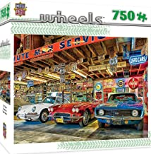 MasterPieces Wheels Jigsaw Puzzle, Triple Threat, Featuring Art by Linda Berman, 750 Pieces