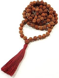 Rudraksha Meditation Mala 8mm 108 Beads Top Quality