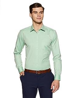 Park Avenue Men's Solid Slim Fit Formal Shirt