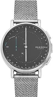 Skagen Signatur Connected Steel-Mesh Hybrid Smart Watch
